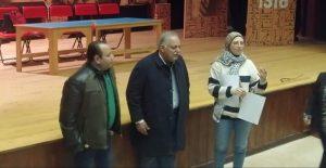 جمال عبد الناصر يشهد افتتاح ثاني مجموعات فني خشبة مسرح بأسيوطجمال عبد الناصر يشهد افتتاح ثاني مجموعات فني خشبة مسرح بأسيوط