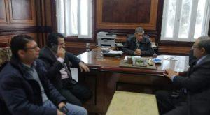 وكيل وزارة الري بالدقهلية يوافق على مبادرة صوت الشعب لتشغيل الشباب