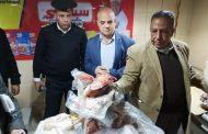 مصادرة وإعدام ٣٥٠ كيلو من منتجات لحوم ودواجن غير صالحة للاستخدام الآدمي بشبرا الخيمة
