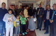 منظمة الضمير العالمي لحقوق الإنسان تزور دار رعاية وتأهيل ذوي الاحتياجات الخاصة بالبحيرة