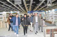 وزير الثقافة تتفقد الترتيبات النهائية لافتتاح معرض القاهرة الدولى للكتاب ال 51
