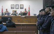 من جلسة المحاكمة توجية الاتهام الإرهاب إلى منفذي اعتداء جرش