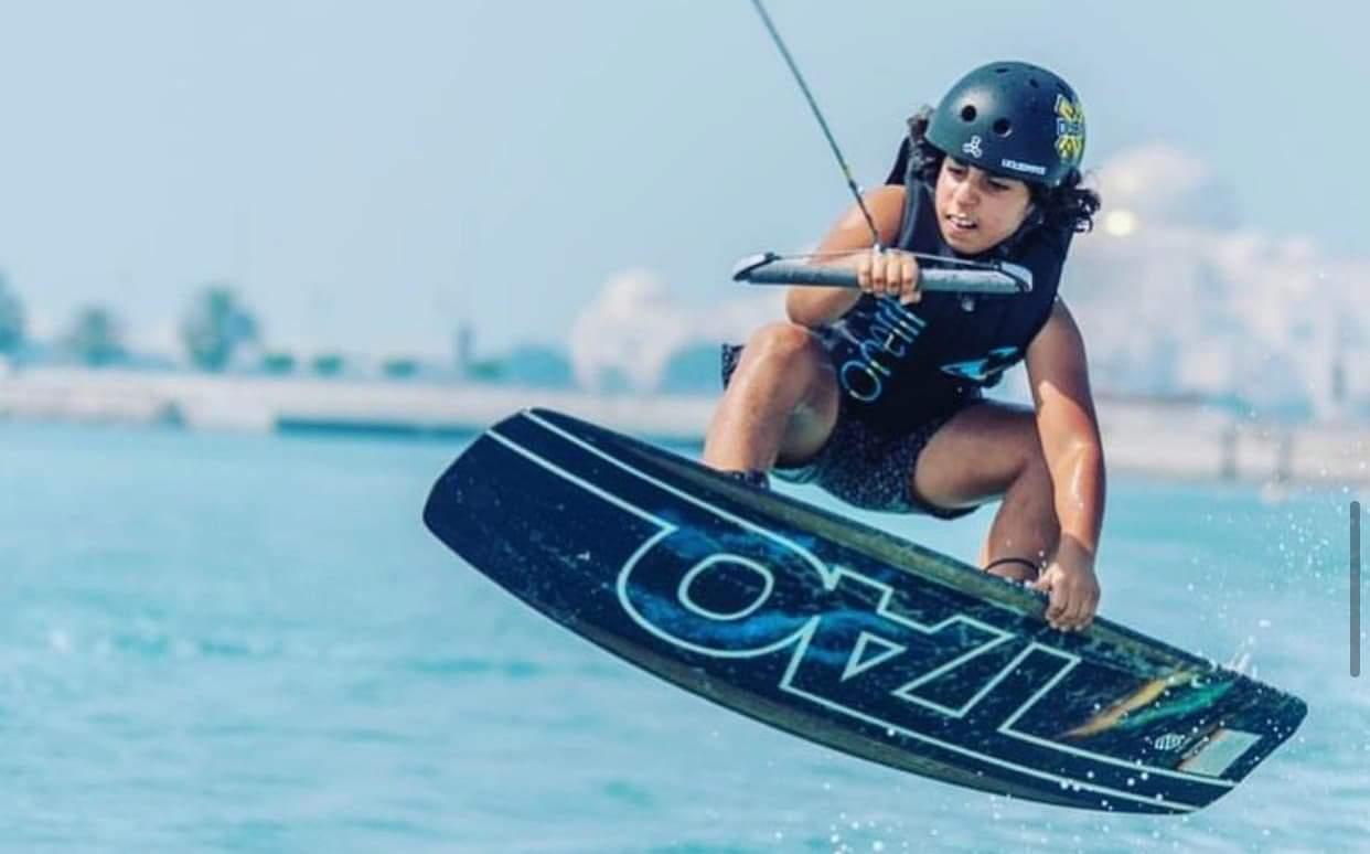 أحمد سعيد عمير يشارك في بطولة العالم للتزحلق على المياه بميامي