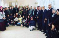 سفيرة منظمة الضمير العالمي لحقوق الإنسان تشارك في التنمية المحلية بالاردن