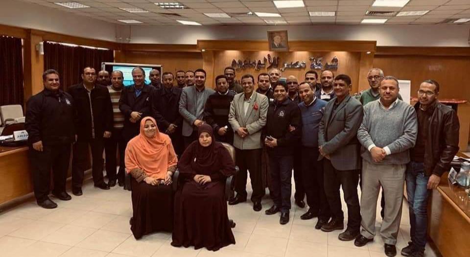بدء فعاليات البرنامج التدريبي إدارة المشروعات الاحترافية بشركة مصر للألومنيوم