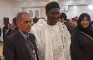 المؤتمر العربى الأوروبى يكرم ابوكماله بن قنا