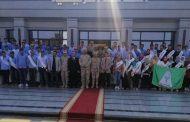 طلاب جامعة المنوفية في زيارة إلي شركة النصر للكيماويات بأبو رواش