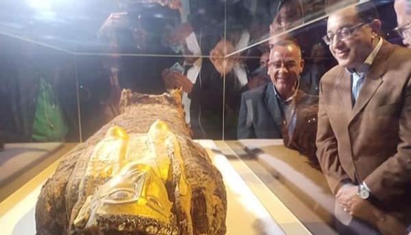 رئيس الوزراء ووزير السياحة يفتتاح متحف الاثار بالغردقة البحر الاحمر