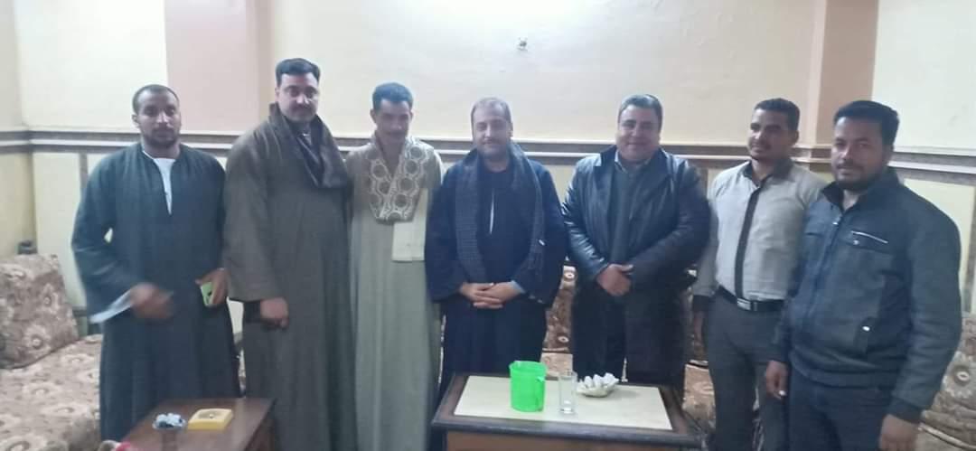 شباب المراشدة يلتقي مع النائب حسين فايز لمناقشة حول مشاكل قرية المراشدة