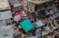 من سوق العتبة بوسط القاهرة وارتفاع التضخم السنوي