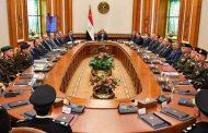 السيسى يجتمع ورئيس الوزراء وأعضاء لجنة استرداد أراضى الدولة