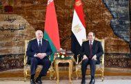 الرئيس عبدالفتاح السيسى يستقبل رئيس جمهورية بيلاروس