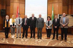 رئيس جامعة المنوفية يفتتح المؤتمر الطلابي الثالث لوحدة ضمان الجودة بكلية الطب