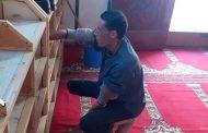 بالصور حملة نظافة للمساجد والزويا تقودها ادارة أوقاف ايتاى البارود ثان