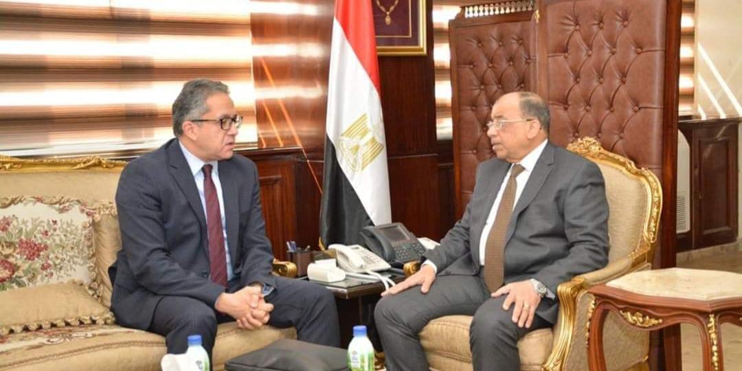 وزيرا التنمية المحلية والسياحة والآثار يبحثان عدد من ملفات التعاون بين الجانبين في المحافظات