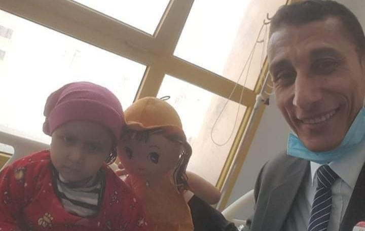 منظمة الضمير العالمي لحقوق الإنسان ترسم البسمه بمركز أورام المنصورة