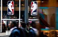 شعار دوري كرة السلة الأميركي للمحترفين كرونا يضرب إن بي إيه