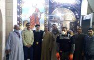 مسلمون يشنون حملة رش وتطهير الكنائس والأديرة من فيرس كورونا بقنا