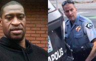 جورج فلويد والشرطي الذي قتله ديريك تشوفين بأميركا