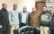 حماة الوطن بمركز كرداسة يهنئ اللواء ياسر مدين  لتجديد الثقة