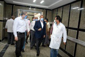 محافظ القليوبية يتفقد مستشفي كفر شكر المركزي لإفتتاحها خلال 10 ايام لاستقبال حالات مرضي كورونا