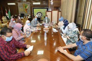 : بدء عمل لجان المتابعة اليومية للمستشفيات بنطاق المحافظة تنفيذا لتوجيهات رئيس الوزراء