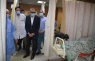محافظ القليوبية يشدد على اتخاذ الإجراءات الوقائية للاطقم الطبية حفاظا على حياتهم