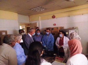 استمرار عمل اللجنة المشكلة للمرور اليومي على المستشفيات المخصصة لمصابي كورونا بقنا