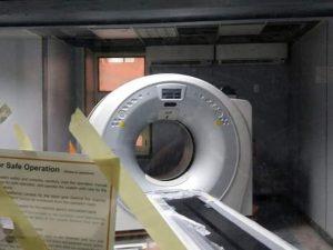 تركيب جهاز أشعة مقطعية جديد بمستشفى بنها الجامعى لخدمة المرضى