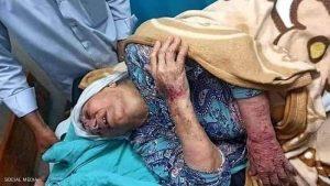 أم جبر وشاح توصف بأنها أم الأسرى الفلسطينيين