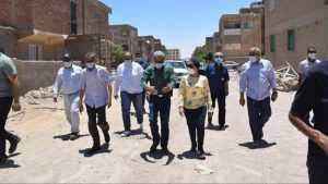 اهتمام اللواء عمرو حنفى محافظ البحر الاحمر بتشغيل منظومة الصرف الصحى ومياه الشرب فى كافة مدن المنطقة