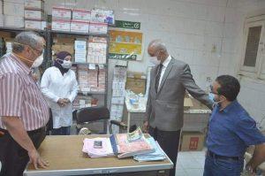 خروج وتعافي ١١٢ حالة مصابة بفيروس كورونا المستجد من مستشفى فرشوط المركزي