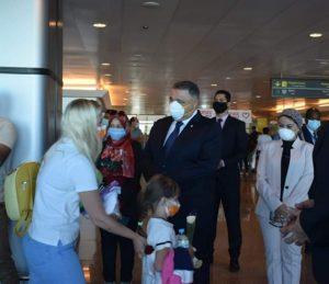 السياح لمحافظ البحر الأحمر: الإجراءات الوقائية عالمية ونشكر مصر على حفاوة الإستقبال