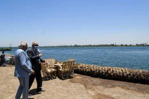محافظ قنا يوجه بإستكمال كورنيش النيل بقرية العضاضية بمدينة أبوتشت
