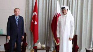 الرئيس التركي وأمير قطر في 5أعوام.. أطماع وأجندات