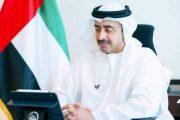 الشيخ عبد الله بن زايد وزير الخارجية الإماراتي يؤكدان دعمهما للمبادرة المصرية في ليبيا