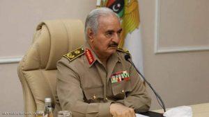 المشير خليفة حفتر سنواصل بناء قواتنا لحماية ليبيا من الغزو التركي