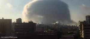 لحظة انفجار بيروت أقوى من أم القنابل وأقل من النووي