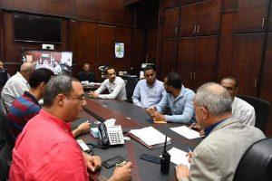 لليوم الثاني علي التوالي تواصل غرفة عمليات محافظة قنا انعقادها بصفة مستمرة لمتابعة سير العملية الانتخابية