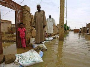 الفيضان دمر أحياء بأكملها في الخرطوم