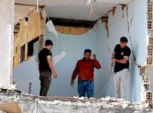 آثار زلزال سابق في إيران يضرب شمال البلاد
