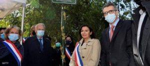 عمدة باريس في افتتاح حديقة سوليتود وأول تمثال لشخصية من أصول إفريقية