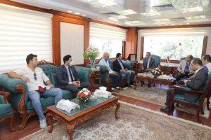 محافظ سوهاج يستقبل وزير الشباب والرياضة لإفتتاح وتفقد بعض المشروعات