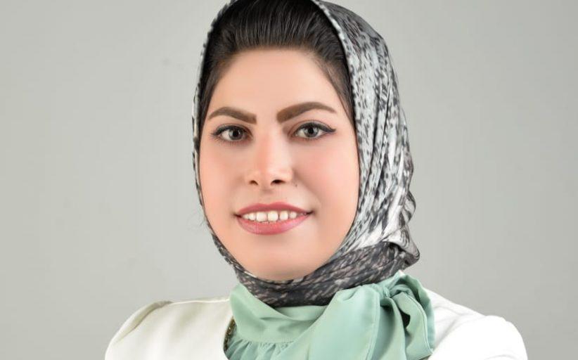 بنت ابوقير بمحافظه الاسكندريه...اصغر نائبه فى تاريخ البرلمان المصري