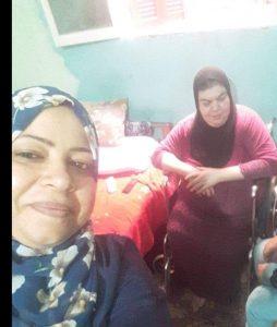 مبادرة جبر الخواطر تساند احدى الامهات المكافحات بكفر الشيخ