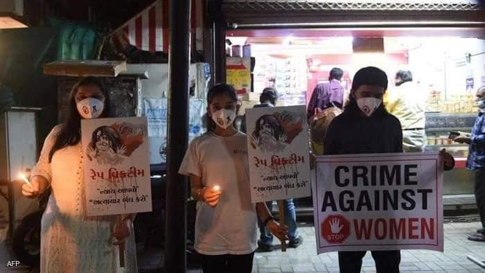 تشهد الهند مظاهرات مطالبة بمحاسبة مرتكبي جرائم الاغتصاب
