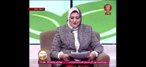 دور المرأة المصرية فى مداخلة تليفزيونية لبرنامج مسا الجمال تقديم الاعلامية د. الشيماء عماد الدين