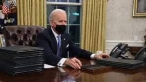 الرئيس الأميركي جو بايدن. أبرز ملفات الـ100 يوم الأولى