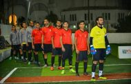 فريق المحترف يواصل إنتصارته ويصل المباراة النهائية للمينى فوتبول