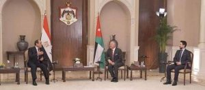الزعيمان السيسى وعبدالله أكدا عمق العلاقات بين البلدين